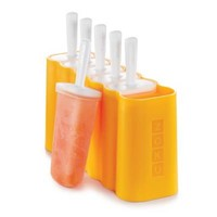 Zoku® Rectangle Pops Mold in Orange