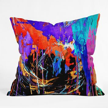Holly Sharpe Energy Throw Pillow