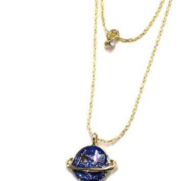 Personality universe planet moon diamond necklace, a perfect gift