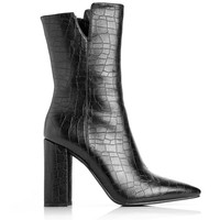 Croc Crazy Bootie - Black
