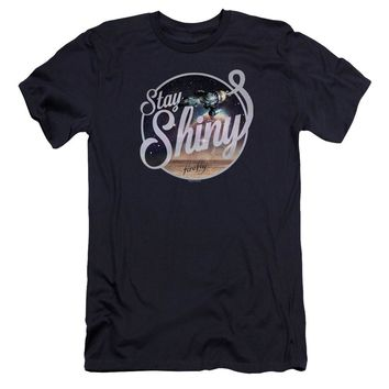 Firefly - Stay Shiny Premium Canvas Adult Slim Fit 30/1 Shirt Officially Licensed T-Shirt