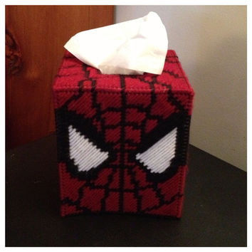 Spider-man Tissue Box Cover