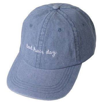 Bad Hair Day Blue Cap