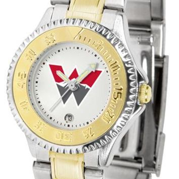 Western State Colorado University Mountaineers Competitor Ladies Two-Tone Watch