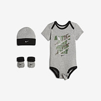 "The Nike ""A Little Dirt Never Hurt"" Three-Piece Infant Boys' Set."