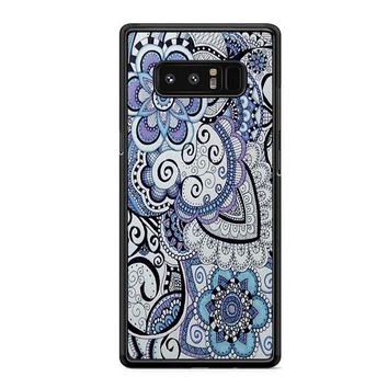 Zentangle Art Flowers Samsung Galaxy S10 Case | Casefruits