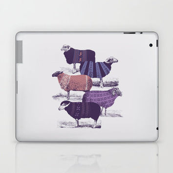 Cool Sweaters Laptop & iPad Skin by Jacques Maes