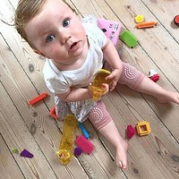 Baby Kids Safety Crawling Elbow Cushion Infants Toddlers Knee Safety Pads Protector