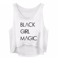 Black Girls Magic - Women's Crop Tank Top