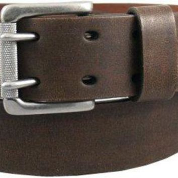 DCCK7J3 Levi's Men's 1 9/16 in. Genuine Leather Two-Pronged Buckle Belt (With Big & Tall Sizes)