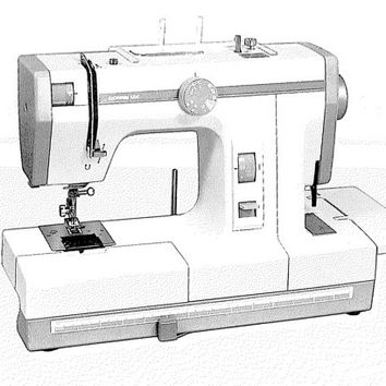 Janome New Home Combi DX 502 Instruction Manual
