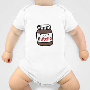 Nutella Baby Clothes By Iotara From Society6 My Baby Collection