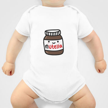 Nutella Baby Clothes by Iotara