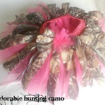 New full girly hunting camo tutu