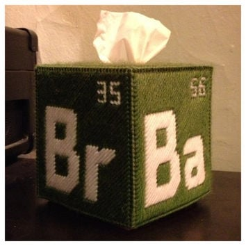 Breaking Bad Tissue Box Cover by K8BitHero on Etsy
