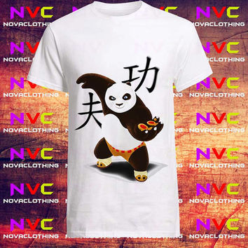Panda Master Kungfu tshirt - Tshirt Unisex Adult, Tshirt Youth, kids clothes, Mens Tshirt, Womens Tshirt, Boys tshirt, Girls tshirt