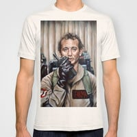 Bill Murray / Ghostbusters / Peter Venkman T-shirt by Heather Buchanan