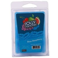 Carousel Candles Mostly Memories 2-Ounce Jolly Rancher Wax Melt, Blue Raspberry