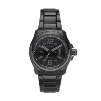 Drive from Citizen Eco-Drive Men's HTM Black Ion-Plated Stainless Steel Watch - AW1354-82E