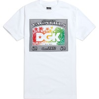 DGK Birds Of Paradise T-Shirt - Mens Tee - White