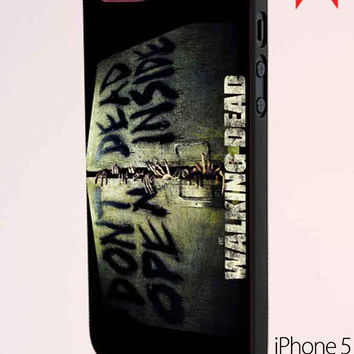 The Walking Dead Dont Open Dead Inside Samsung Galaxy S6 Case