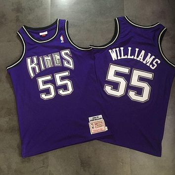 NBA Sacramento Kings 55 Jason Williams Swingman Jersey