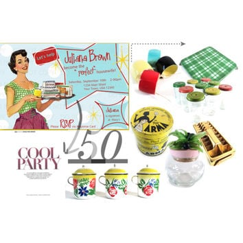 50s Housewife - Vintage Home
