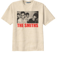 Retro The Smiths Punk Rock T-Shirt Tee Organic Cotton Vintage Look Size S M L