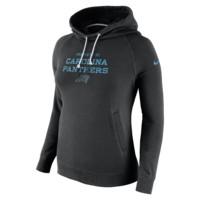 Nike Stadium Rally Funnel Pullover (NFL Panthers) Women's Hoodie