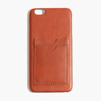 LEATHER CARD CASE FOR IPHONE® 6 PLUS