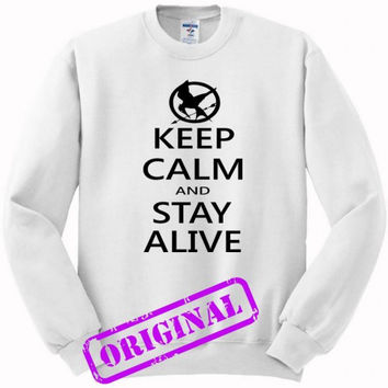 hunger games quotes for sweater white, sweatshirt white unisex adult