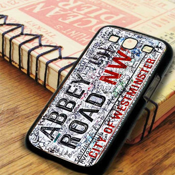The Beatles Abbey Road Samsung Galaxy S3 Case