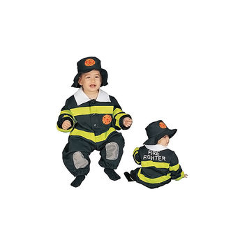 Baby Fire Fighter Costume Set - 9-12 mo.