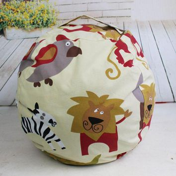 EXTRA LARGE Stuff 'n Sit - Stuffed Animal Storage Bean Bag Cover
