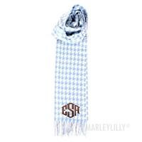 Monogram Scarf with Cashmere Feel | Marleylilly