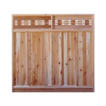 Signature Development, 6 ft. H x 6 ft. W Western Red Cedar Horizontal Lattice Top Fence Panel Kit, 6x6HorizTopFKit at The Home Depot - Mobile
