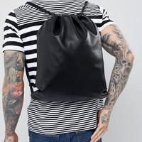 Mi-Pac Tumbled Kit Bag in Black at asos.com