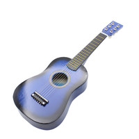 "23"" Guitar Mini Guitar Basswood Kid's Musical Toy Acoustic Stringed Instrument with Plectrum 1st String"