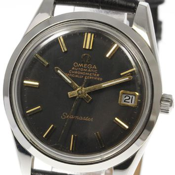Vintage OMEGA Seamaster Chronometer Cal.564 Date Automatic Men's Watch_400202