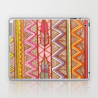 Two Feathers... Laptop & iPad Skin by Lisa Argyropoulos