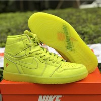 Nike Air Jordan 1 Retro OG High Gatorade Sneakers Men Basketball Shoes