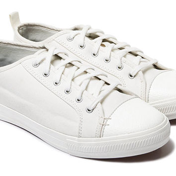 The Wilson - White // White Sole