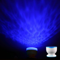 Hot LED Night Light Projector Ocean Wave Projector Lamp With Speaker. Vintage Romance and Cottage Style