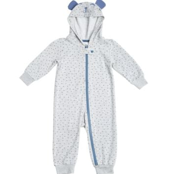 Marley Hooded Baby Onesuit