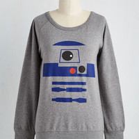 Of R2 Minds Sweatshirt | Mod Retro Vintage Sweaters | ModCloth.com