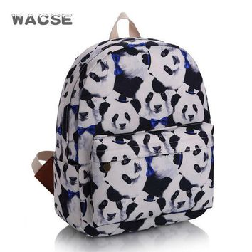 CREYUG3 Stylish Cats Korean Casual Fashion Backpack = 4887507652