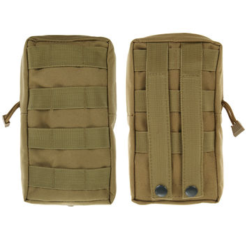 Airsoft Military 600D MOLLE Utility Vest Waist Pouch Bag Men Military Waist Bag Vest Waist Pouch Bag For male high quality