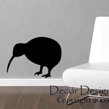Kiwi Bird Vinyl Wall Decal Sticker