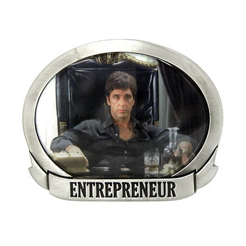 Officially Licensed SCARFACE Photo ENTREPRENEUR Belt Buckle