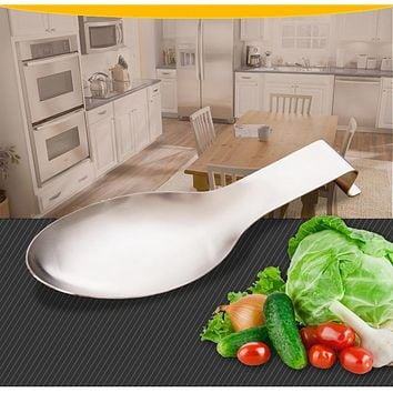 Multifunctional Kitchen Storage Tools Stainless Steel Spoon Rack Soup Spoon Holders Spatula Rack